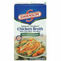 Swanson 100% Natural 99% Fat Free No MSG Added Chicken Broth uploaded by Rendi D.