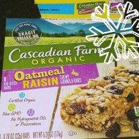 Cascadian Farm Organic Oatmeal Raisin Granola Bars uploaded by Paula C.