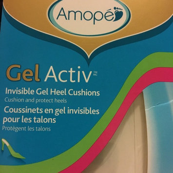 Photo of Amope Gelactiv Invisible Gel Heel Cushions uploaded by Nicole c.