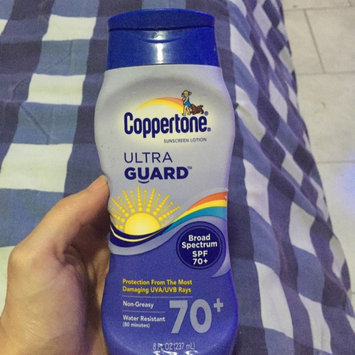 Coppertone Ultra Guard Sunscreen Lotion uploaded by Clara C.