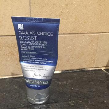 Photo of Paula's Choice Resist Cellular Defense Daily Moisturizer SPF 25 w/ Antioxidants uploaded by BRIDGET B.