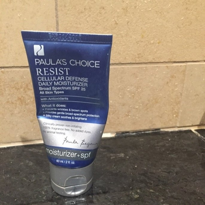 Paula's Choice Resist Cellular Defense Daily Moisturizer SPF 25 w/ Antioxidants uploaded by BRIDGET B.