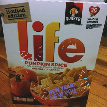Quaker® Life® Pumpkin Spice Cereal  13 oz. Box uploaded by Jackie B.