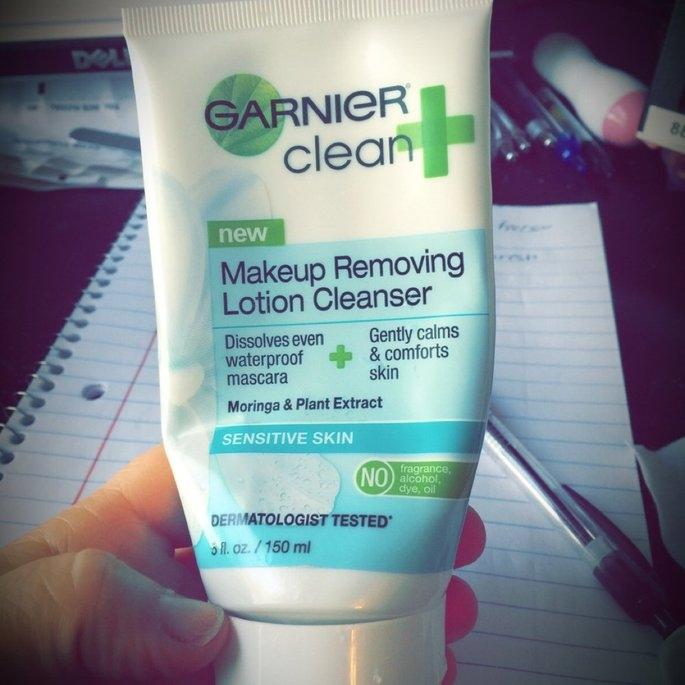 Garnier® Clean+ Sensitive Skin Makeup Removing Lotion Cleanser 5 fl. oz. Bottle uploaded by Joslyn M.