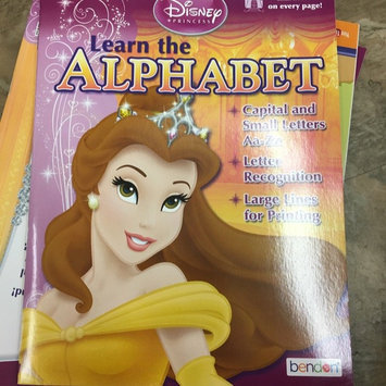 Disney Princess Learning The Alphabet Workbook uploaded by Veronica C.