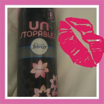 Photo of Febreze Unstopables™ Shimmer Air Refresher 9.7 oz. Aerosol Can uploaded by Amber H.