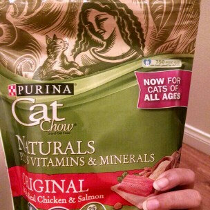 Photo of Purina Cat Chow Naturals Plus Vitamins & Minerals uploaded by Ceara C.