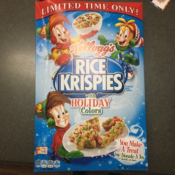 Kellogg's Rice Krispies Cereal uploaded by Brianna S.