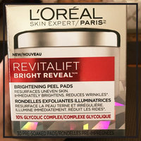 L'Oréal Paris RevitaLift® Bright Reveal Brightening Daily Peel Pads uploaded by Tammy M.