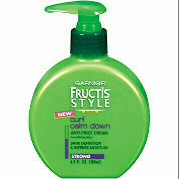 Garnier Fructis Style Curl Calm Down Anti-Frizz Cream uploaded by Rendi D.