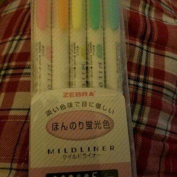 Photo of Zebra Highlighter Mildliner, 5 Color Set (WKT7-5C) [{
