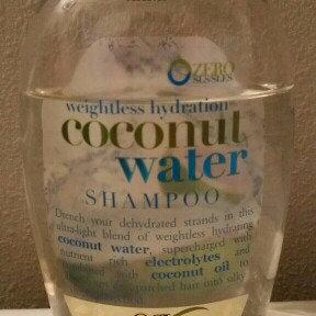 OGX® Coconut Water Shampoo uploaded by Kenzi M.