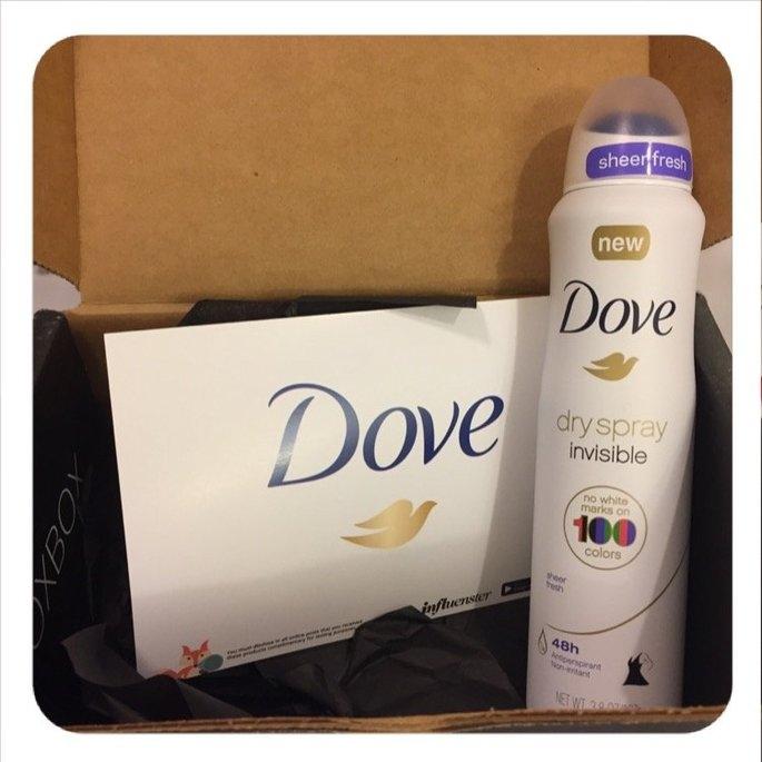 Dove® Invisible Antiperspirant Dry Spray Sheer Fresh uploaded by Rhea D.