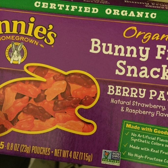 Annie's Homegrown Organic Bunny Berry Patch Fruit Snacks - 5 CT uploaded by Mistie D.