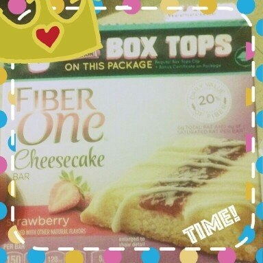 Fiber One Cheesecake Bar Strawberry uploaded by Sara M.