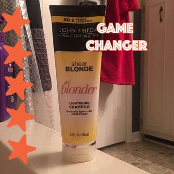 Photo of John Frieda® Sheer Blonde Go Blonder Lightening Shampoo uploaded by Tara B.