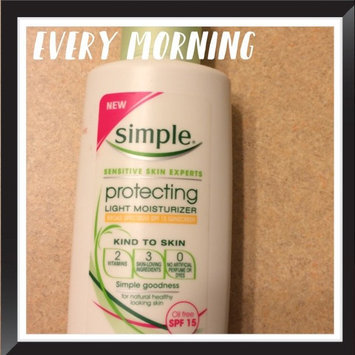 Photo of Simple Protecting Light Moisturizer SPF 15 uploaded by Kelsey S.