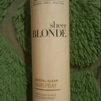 John Frieda Sheer Blonde Crystal Clear Shape & Shimmer Hairspray for All Blondes uploaded by Grace D.