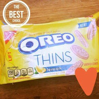 Nabisco Oreo Sandwich Cookies Thins Lemon Creme uploaded by Magan C.
