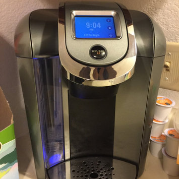 Photo of Keurig - 2.0 K550 4-cup Coffeemaker - Black/dark Gray uploaded by Cynthia D.
