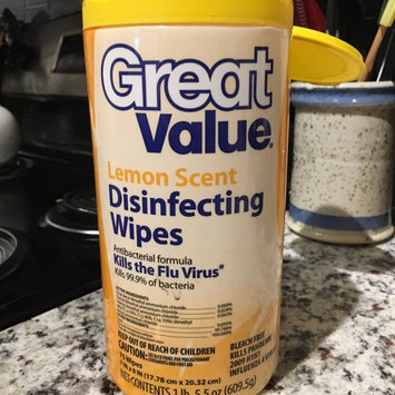 Great Value Lemon Scent Disinfecting Wipes uploaded by Joy H.
