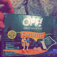 OFF! Deep Woods Unscented Towelettes Insect Repellent uploaded by Kaylee S.