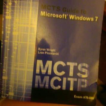 Photo of MCTS Guide to Microsoft Windows 7 (Exam # 70-680) (Test Preparation) uploaded by Desiree A.
