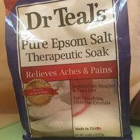 Dr. Teal's Epsom Salt Soaking Solution Magnesium Sulfate USP uploaded by Brandy O.