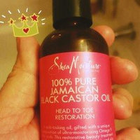 SheaMoisture 100% Pure Jamaican Black Castor Oil uploaded by maribel l.
