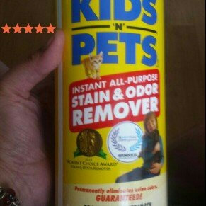 Photo of Kids 'N' Pets Instant All-Purpose Stain And Odor Remover uploaded by Angie C.