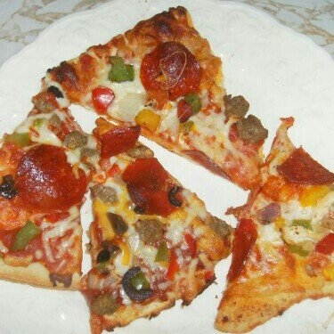 Red Baron® Fire Baked 4-Cheese Pizza 19.79 oz. Box uploaded by Sydney T.