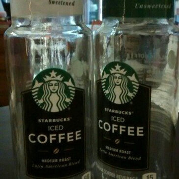Photo of Starbucks® Black Unsweetened Iced Coffee uploaded by Arwen M.