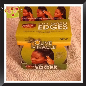 Photo of African Pride Olive Miracle Silky Smooth Edges uploaded by Shon R.