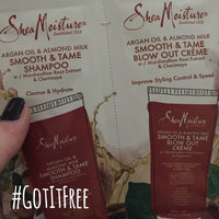 SheaMoisture Argan Oil & Almond Milk Smooth & Tame Shampoo uploaded by Schyler G.