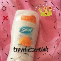 Secret Antiperspirant & Deodorant Invisible Solid, Hawaii Citrus Breeze, 2.6 oz uploaded by kathy q.