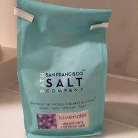 San Francisco Salt Company - Dead Sea Mineral Bath Salt Lavender - 28 oz. uploaded by Jennifer M.