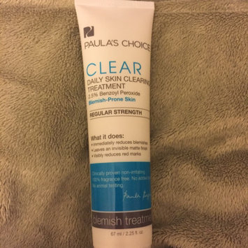 Photo of Paula's Choice CLEAR Regular Strength Daily Skin Clearing Treatment uploaded by Amber W.