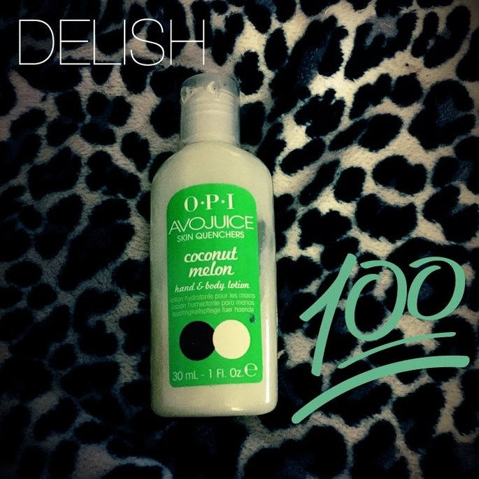 OPI Avojuice Skin Quencher 1 oz Coconut Melon Juicie [Coconut Melon] uploaded by Sherry S.