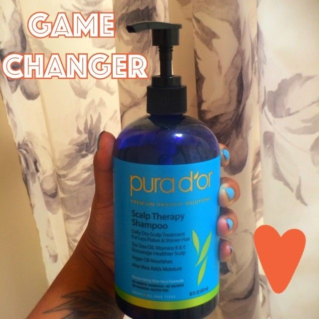 pura d'or Scalp Therapy Shampoo uploaded by Andrea A.