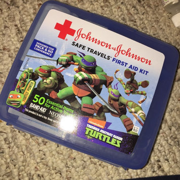 Photo of Johnson & Johnson Safe Travels® Nickelodeon™ Teenage Mutant Ninja Turtles™ First Aid Kit Case uploaded by Trisha L.