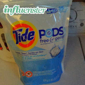 Photo of Tide PODS® Free and Gentle Laundry Detergent uploaded by Jessie A.