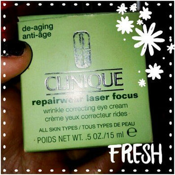Photo of Clinique Repairwear Laser Focus™ Wrinkle Correcting Eye Cream uploaded by Estefany Z.
