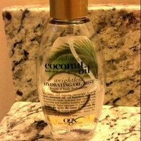Organix OGX Nourishing Coconut Oil Weightless Hydrating Oil Body Mist - 6.8 oz uploaded by taryn d.