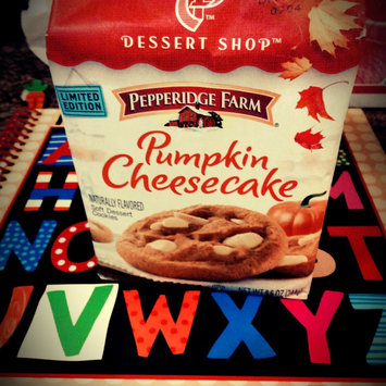 Pepperidge Farm® Dessert Shop™ Pumkin Cheesecake Soft Dessert Cookies 8.6 oz. Package uploaded by Leslie W.