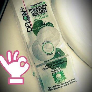 Delon Laboratories Delon+ Premium 100-count Cotton Rounds (Pack of 24) uploaded by Jasmine C.