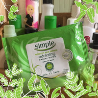 Simple Exfoliating Facial Wipes uploaded by Jami P.