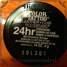 Maybelline Eyestudio® ColorTattoo® Leather 24 Hour Cream Gel Eye Shadow uploaded by Amanda Y.