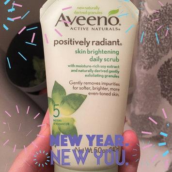 Aveeno Positively Radiant Skin Brightening Daily Scrub uploaded by Allyson P.
