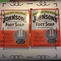 Johnson's Baby Johnson's Foot Soap, Packets - 4 ea uploaded by Jocelyn W.