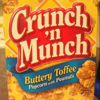 Crunch 'N Munch Buttery Toffee Popcorn With Peanuts uploaded by jessica s.